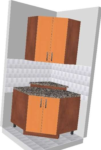 kutni elementi pod kutem od 45 stupnjeva