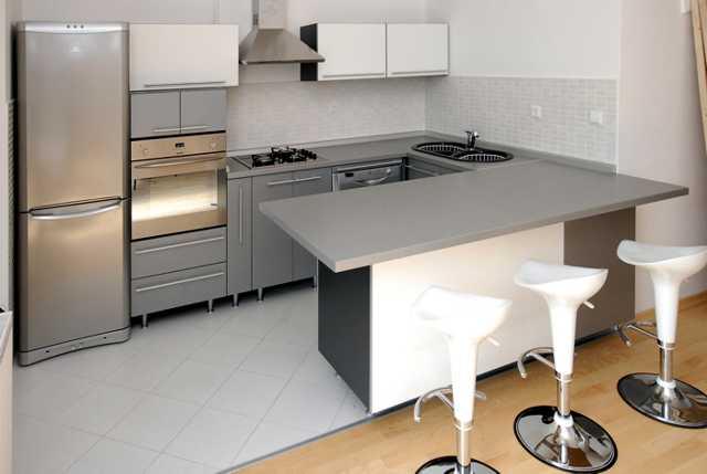 izmjerena i izrađena kuhinja