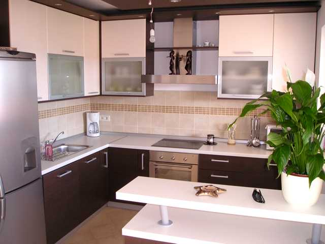 izrađena kuhinja